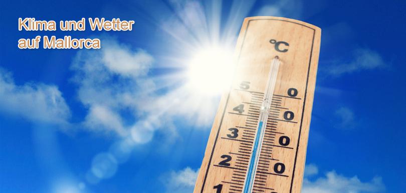 Klimatabelle und Wettertabelle auf Mallorca