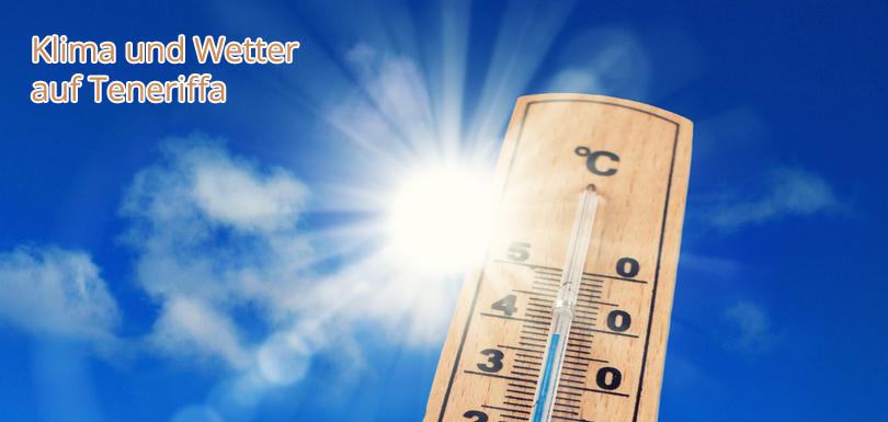 Klimatabelle und Wettertabelle auf Teneriffa